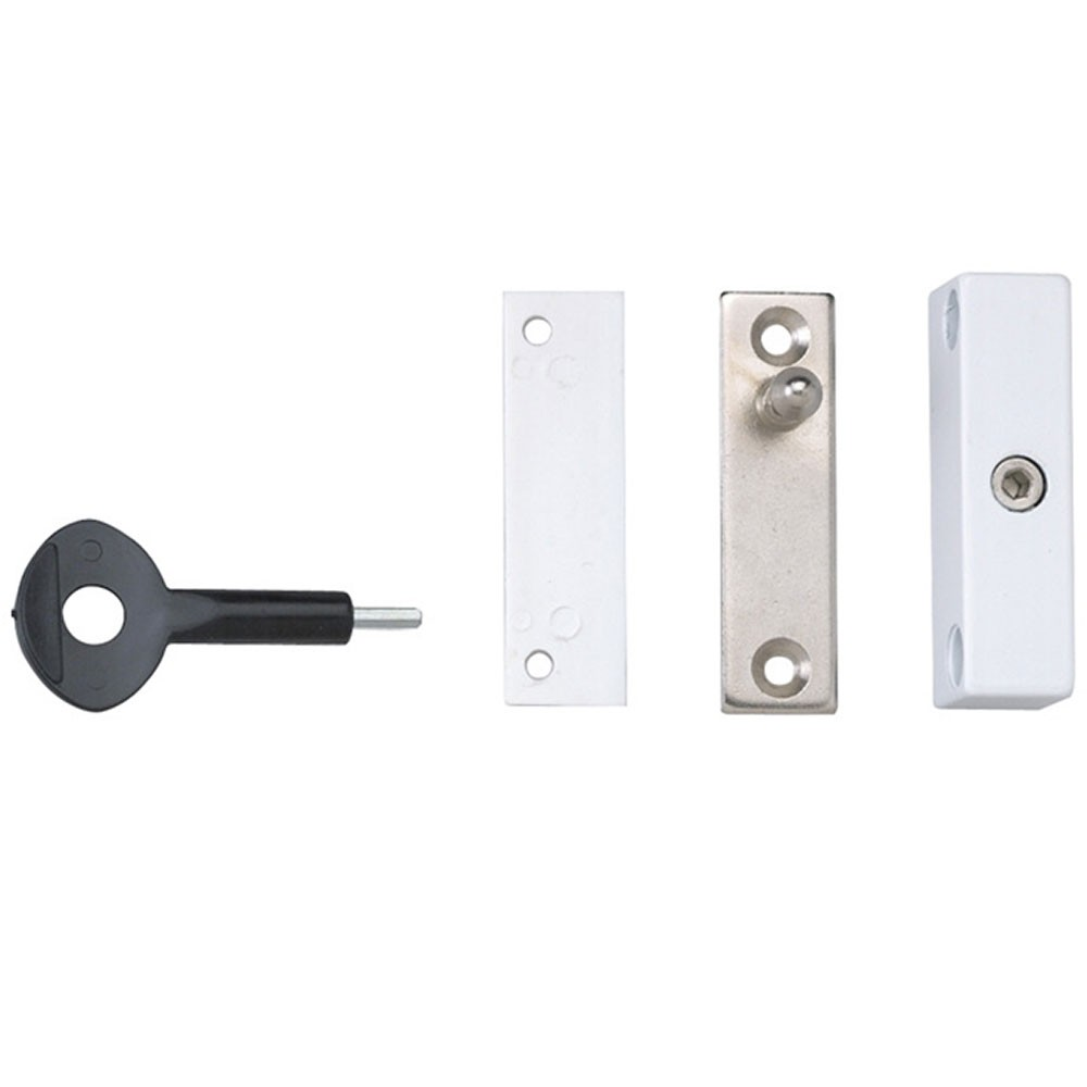 P118 Auto Window Lock White