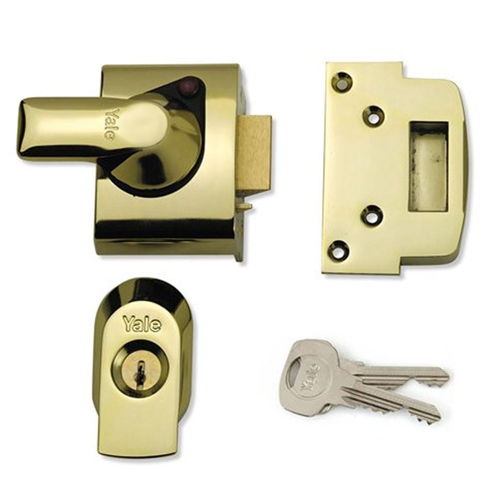 Polished Brass Case & Cylinder