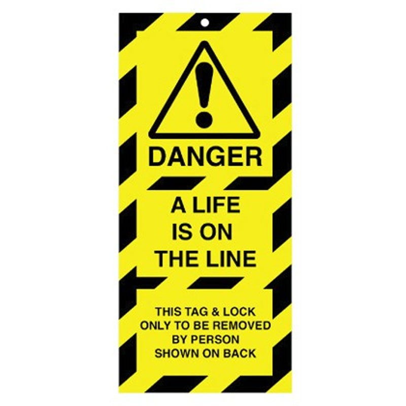 Poly Tag Danger A Life 75mm