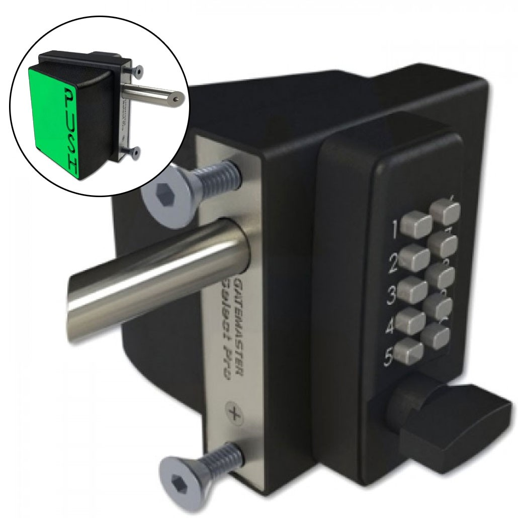 Gatemaster Quick Exit Digital Gate Lock 10-30mm