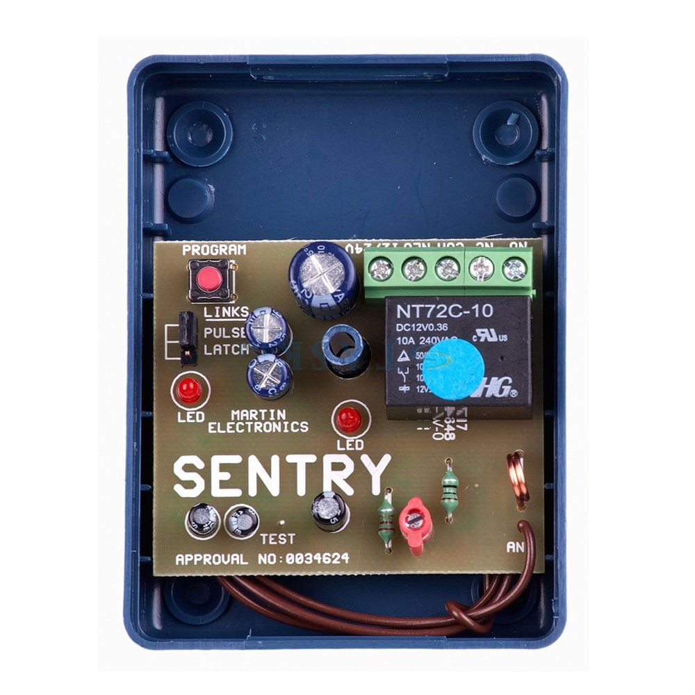 Sentry Code Hopping Receiver 1 Channel