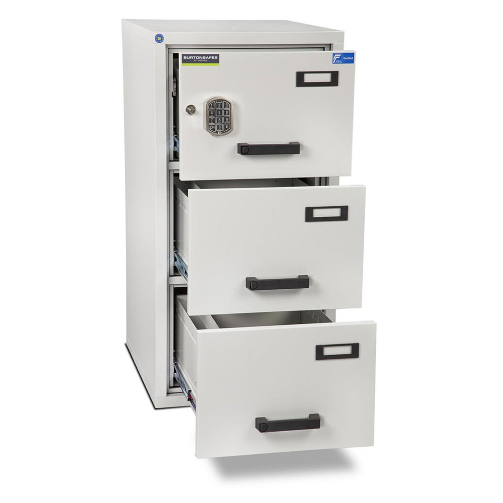 FF300 Filing Cabinet 3 Drawer Electronic