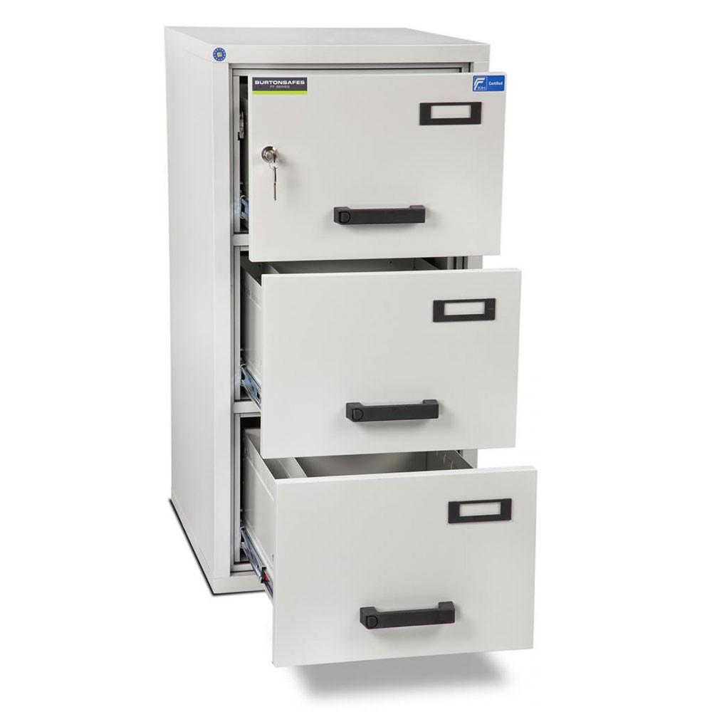 FF300 Filing Cabinet 3 Drawer Key