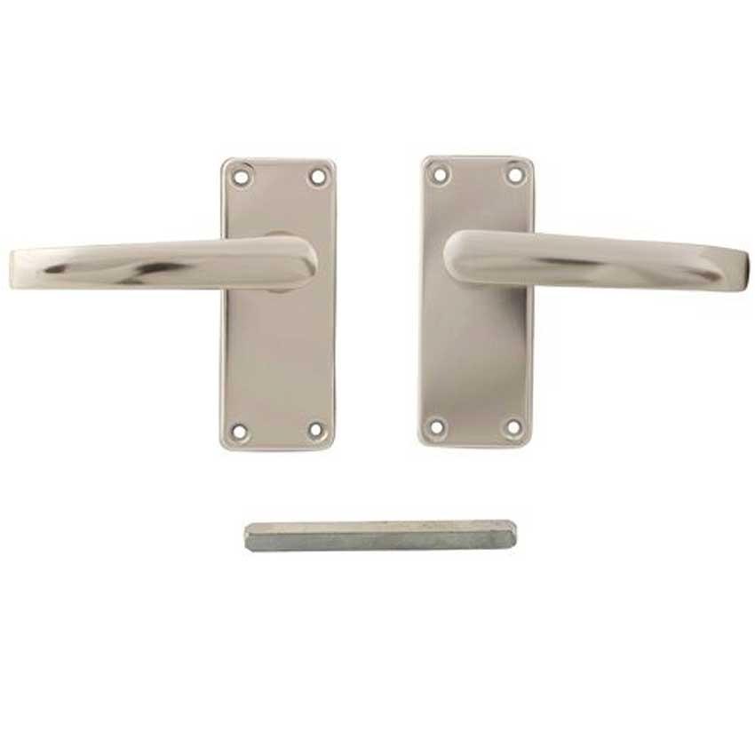 TSS Aluminium Screw Fix Latch Lock Handles