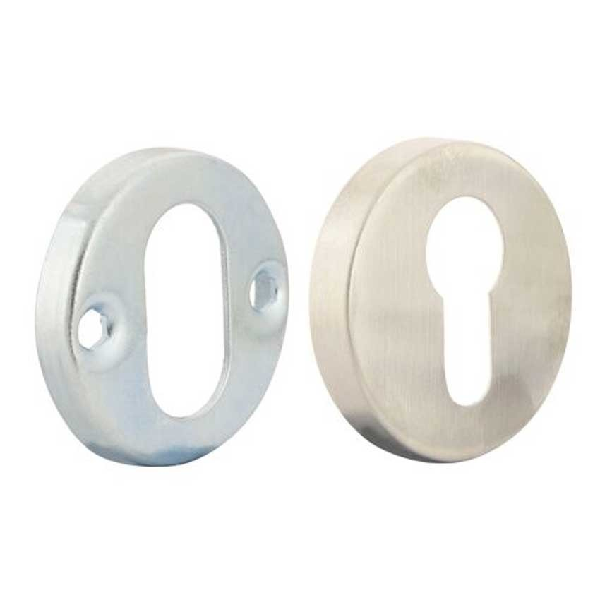 TSS Stainless Steel Euro Escutcheon