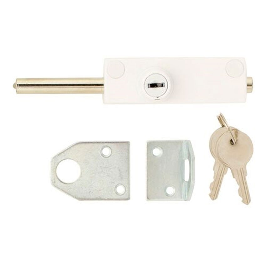 TSS Multi Purpose Door Bolt White