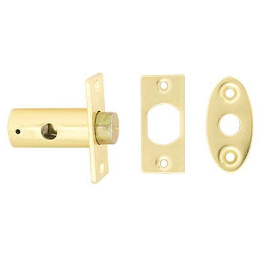TSS Window Bolt No Key Polished Brass