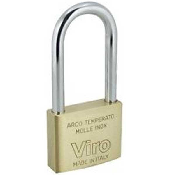 Viro Brass Padlock 30mm XLS