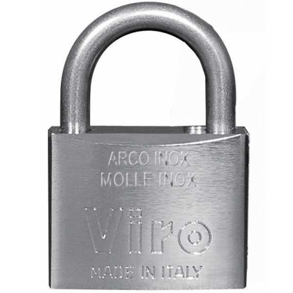 Viro Marine Padlock With SS Shackle 40mm