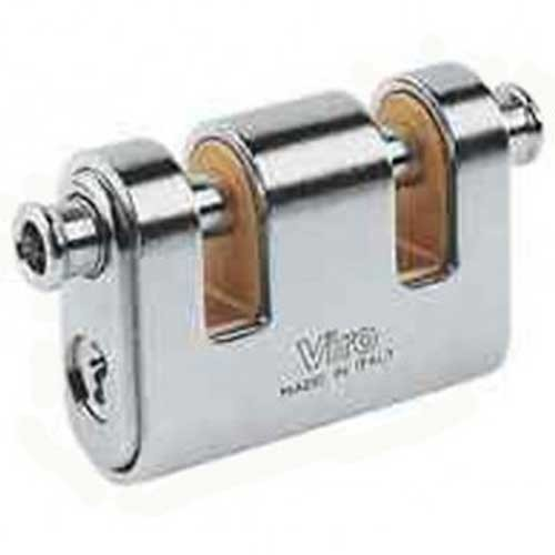 Viro Panzer Double Bolt Padlock 78mm