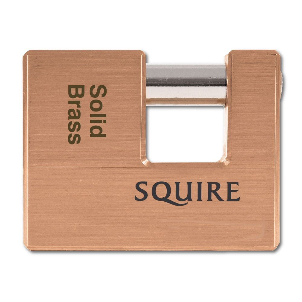 Squire WL3 Brass Padlock 90mm