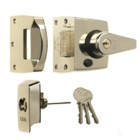 Era British Standard Nghtlatch 40mm satin Nickel