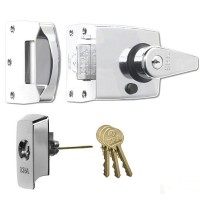 Era British Standard Nightlatch Chrome