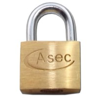 Asec Brass Padlock 20MM