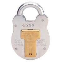 Squire Padlock 220 38mm 4 Lever