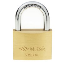 Cisa Brass Padlock 22010 60mm OS