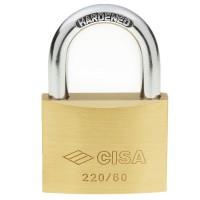 Cisa Brass Padlock 22010 60mm OS