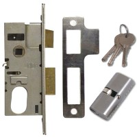 Union Sashlock 22214 Satin Chrome 50mm Oval