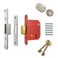 Era Fortress Classic Deadlock 64mm Satin Chrome