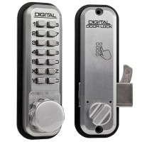 Lockey 2500 Mechanical Lock Satin Chrome