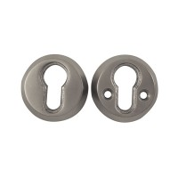 Era Euro High Security Escutcheon Satin Chrome