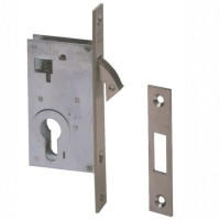 Cisa Hooklock Euro Case Nickel Plated
