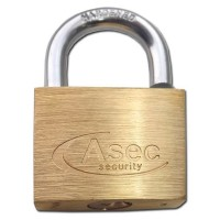 Asec Brass Padlock 50MM