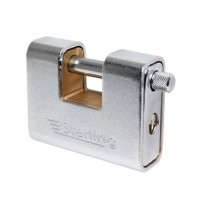 Sterling Armoured Steel Padlock 62