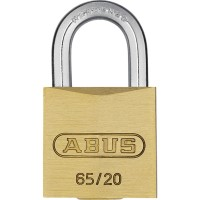 65/20mm Brass Padlock