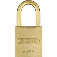 65MB/15mm Solid Brass Padlock