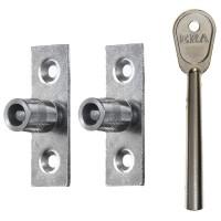 Era 822 Sash Window Stop Satin Chrome