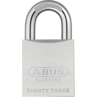 83/50C Chrome Plated Brass Padlock