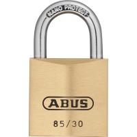 Abus 85/30mm Brass Padlock