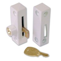 Era 902 Flush Pivot Lock White