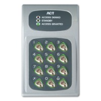 ACT 10 Electronic Keypad Grey