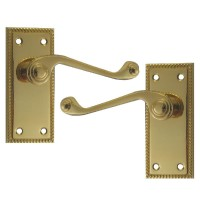 Asec Georgian furniture Latch PB