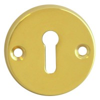 Asec Escutcheon 45mm Standard PB