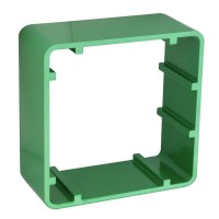 Asec SMB 0610-5 Surface Box Green