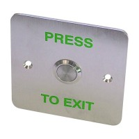 Asec EXB 0658 Exit Button 1 Gang