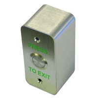 Asec EXB 0658-NS Exit Button Narrow