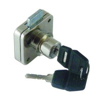 Asec Deadbolt Furniture Lock Square 16mm CP