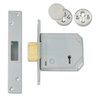 Union BS3621 Deadlock Satin Chrome 80mm TP20