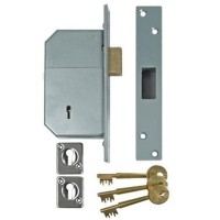 Union Deadlock 3G135 73mm Satin Chrome