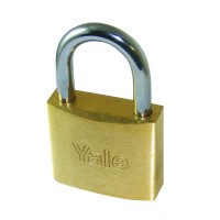 730 Brass Padlock 40mm Steel Shackle