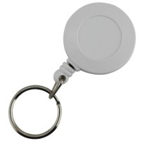 SKS Small Plastic Key Reel With Cord White