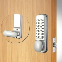 Codelocks CL155 Mortice Latch Silver