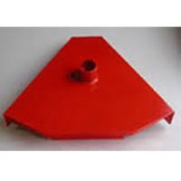 Bulldog Red Triangular Hood For Titan