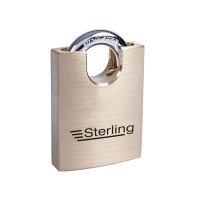 Sterling Brass Closed Shackle Padlock 40mm