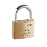 Ifam E25 Brass Padlock 25mm