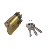 Fortis V-Cam Single Cylinder Brass
